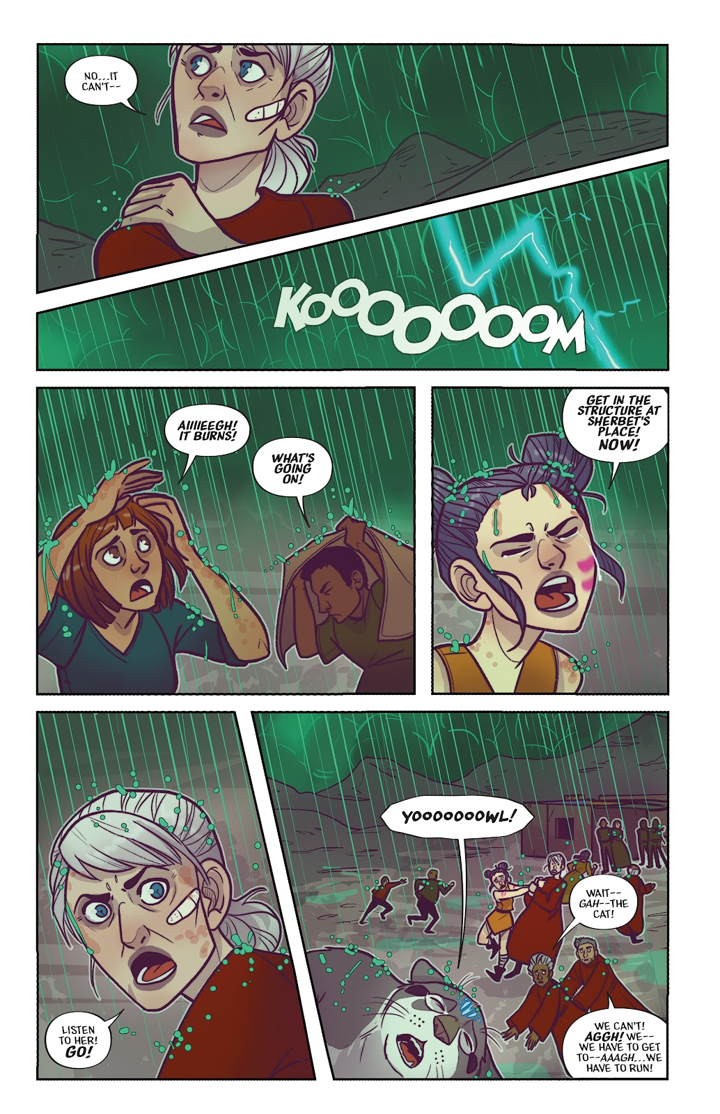 Read online Afterglow comic -  Issue #3 - 12