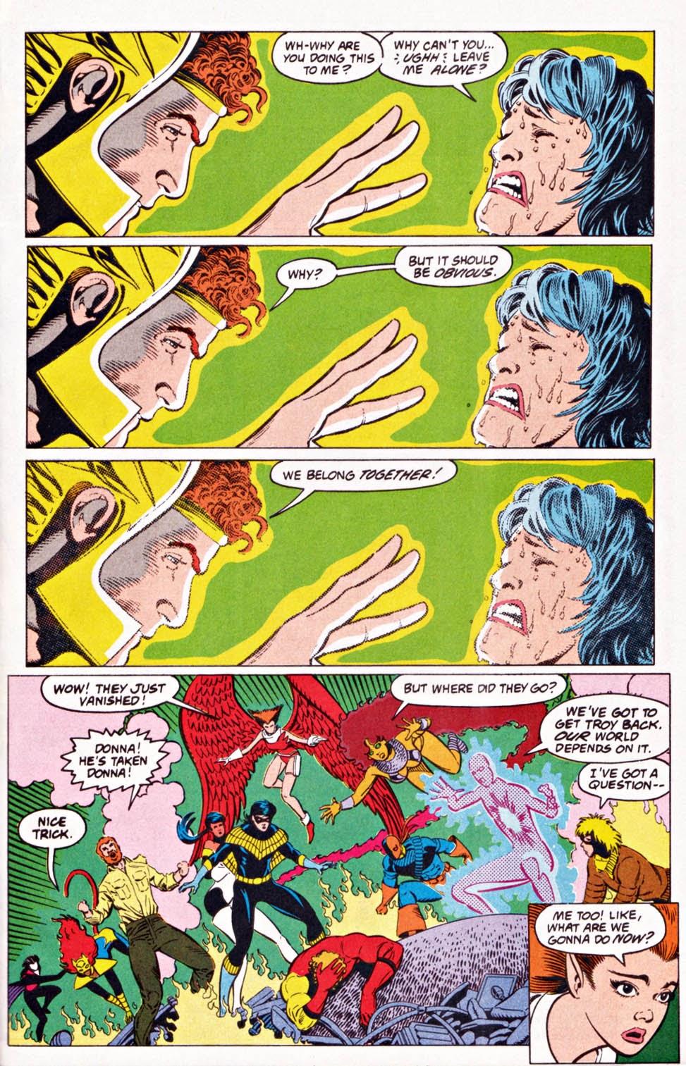 Read online Team Titans comic -  Issue #1e - 29