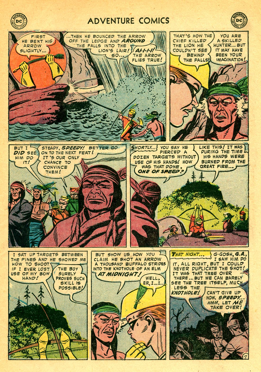 Read online Adventure Comics (1938) comic -  Issue #209 - 31