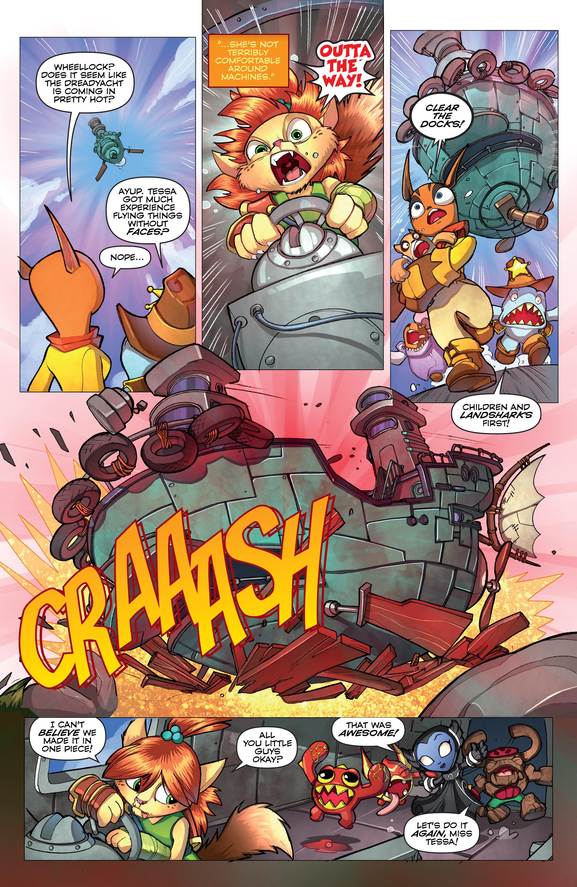 Read online Skylanders comic -  Issue #2 - 6