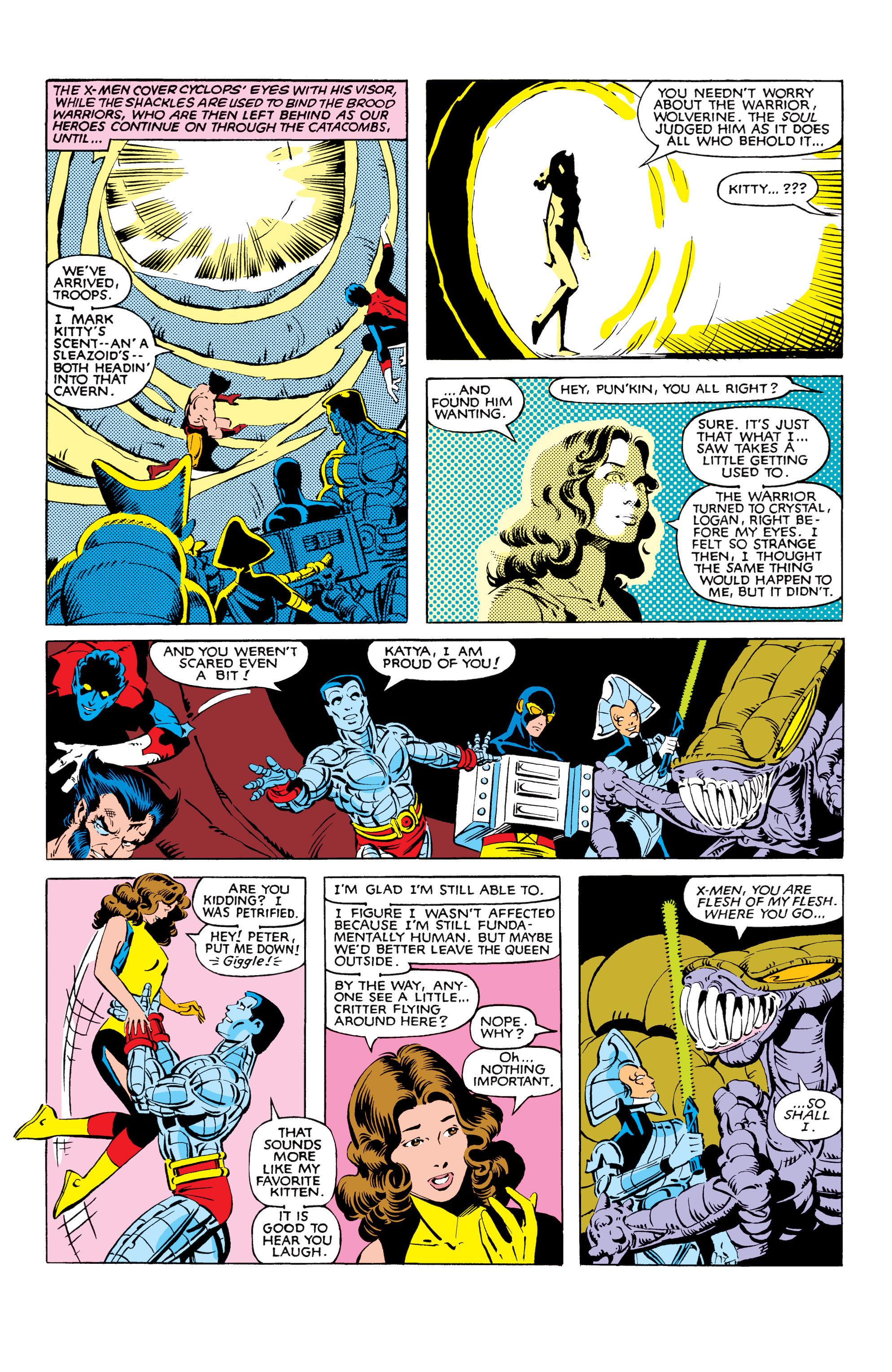 Read online Uncanny X-Men (1963) comic -  Issue #166 - 31