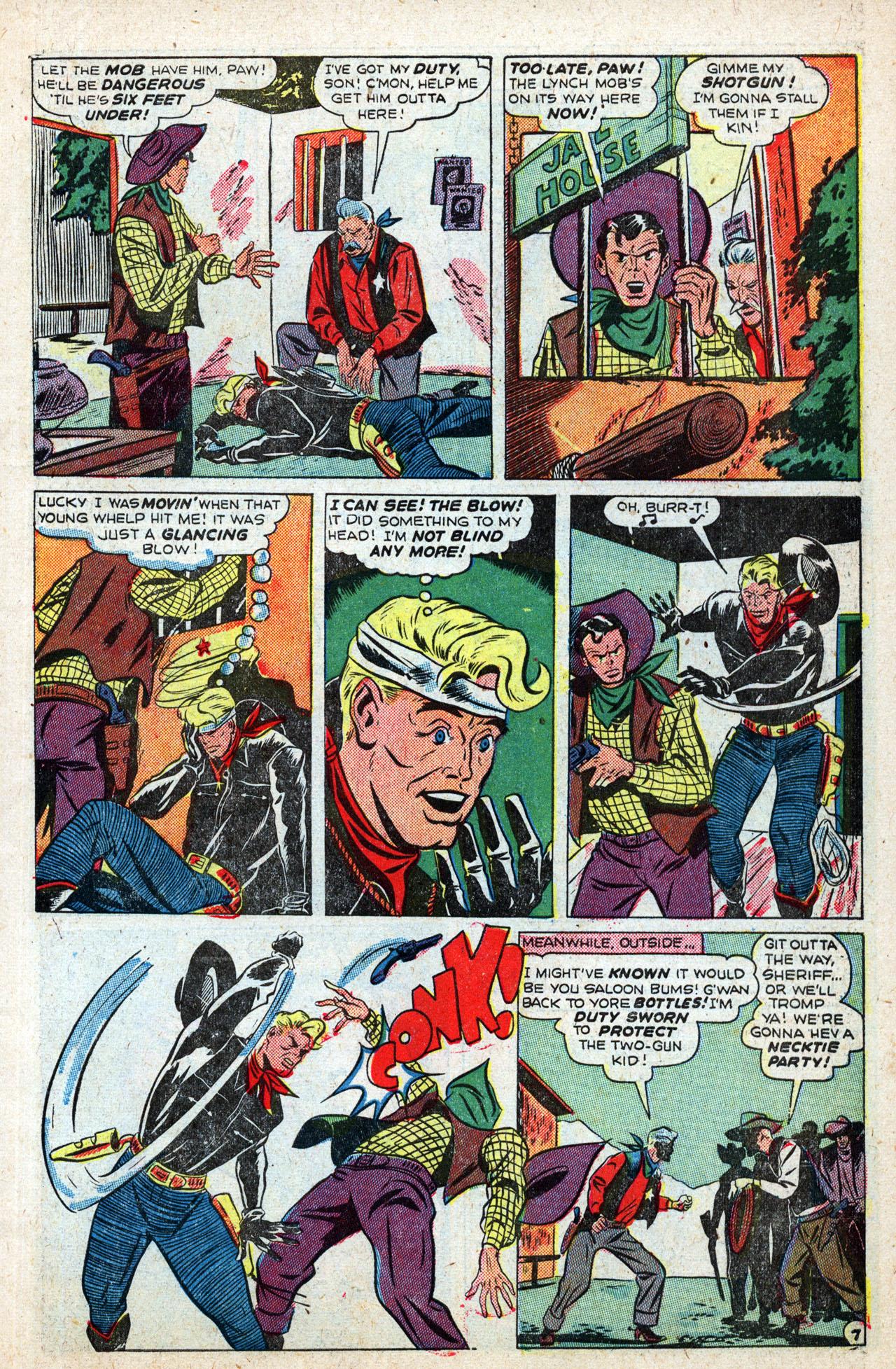 Read online Two-Gun Kid comic -  Issue #4 - 9