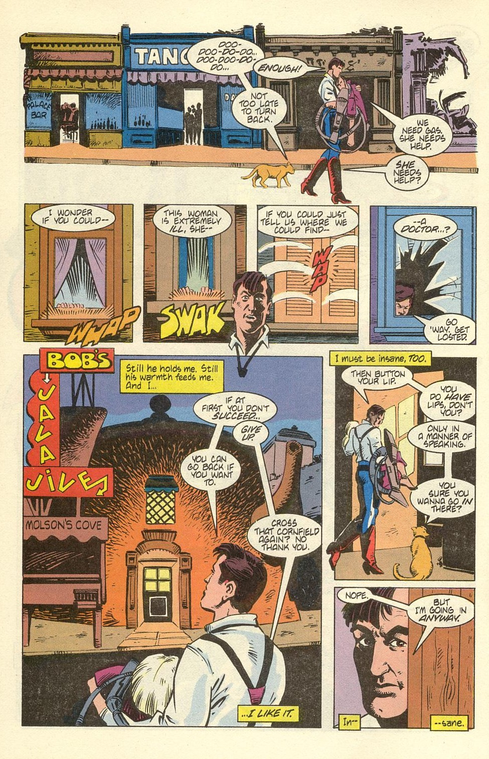 Read online American Flagg! comic -  Issue #40 - 10