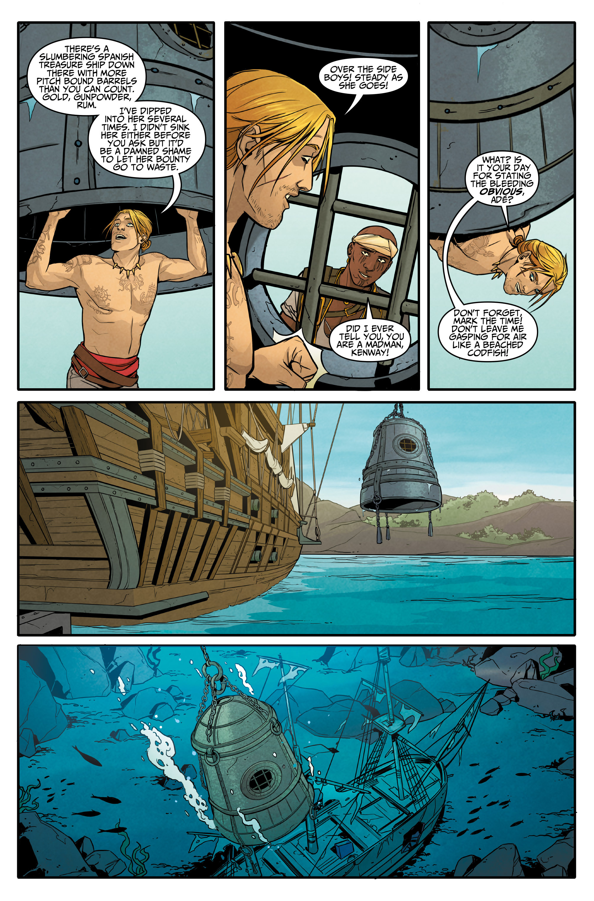 Read online Assassin's Creed: Reflections comic -  Issue #3 - 7