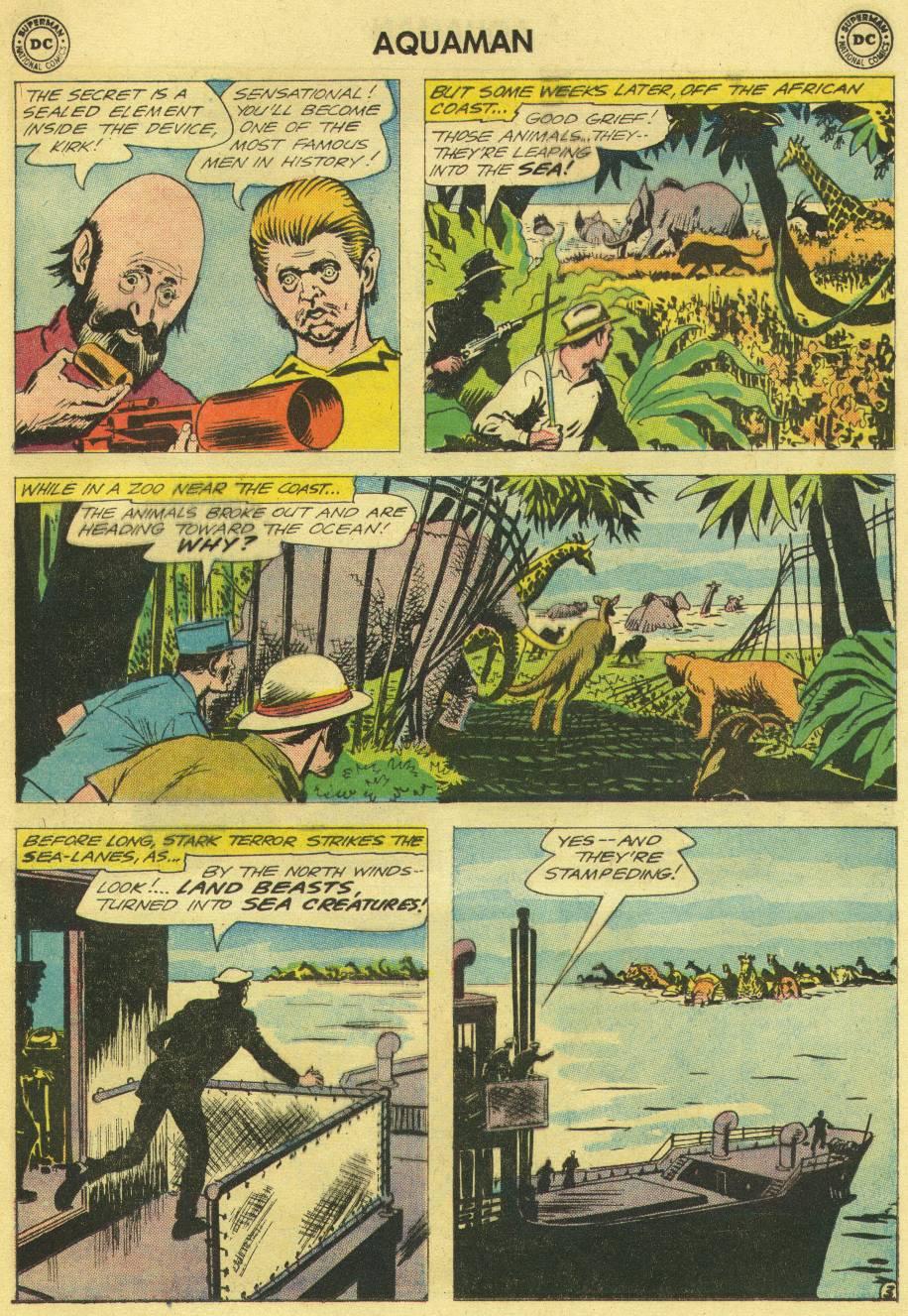 Read online Aquaman (1962) comic -  Issue #12 - 5