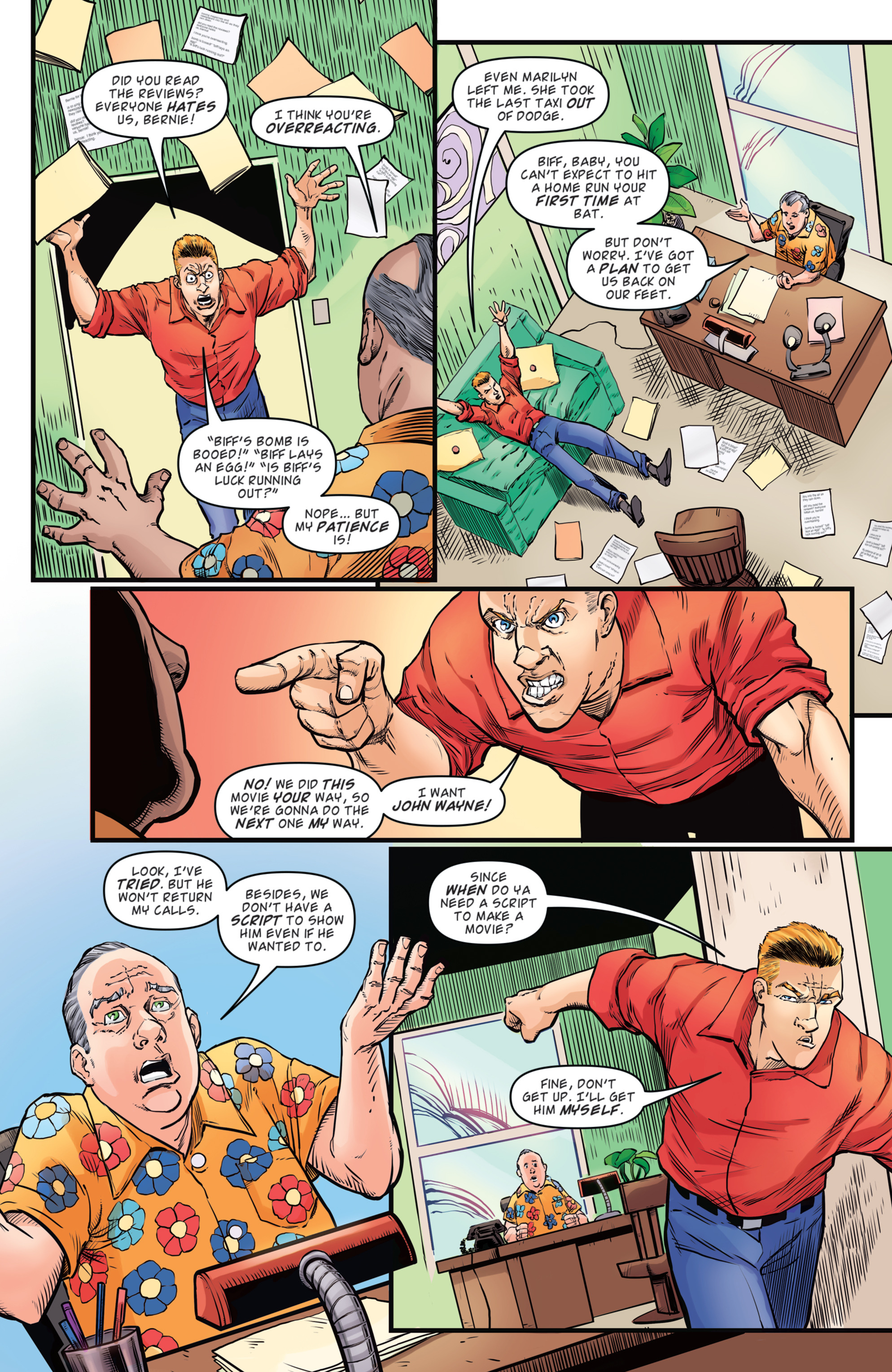 Read online Back to the Future: Biff to the Future comic -  Issue #2 - 15