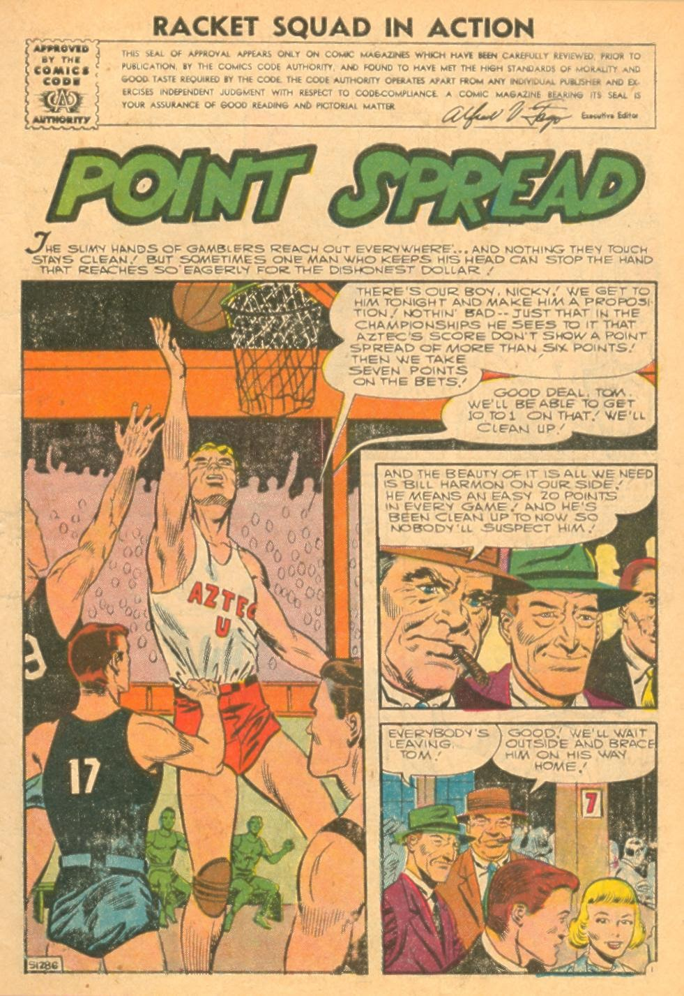 Read online Racket Squad in Action comic -  Issue #24 - 3