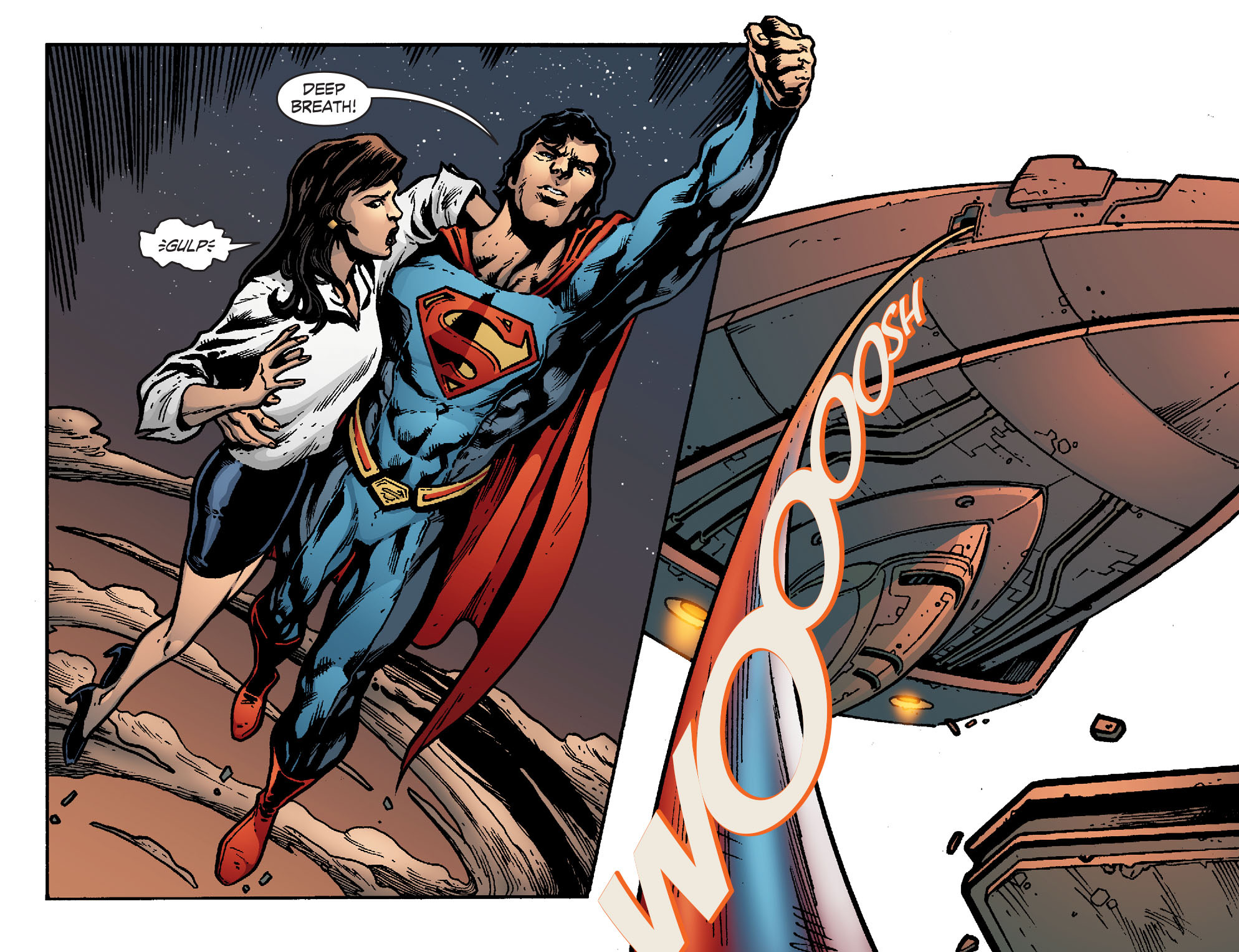 Read online Smallville: Chaos [II] comic -  Issue #8 - 18