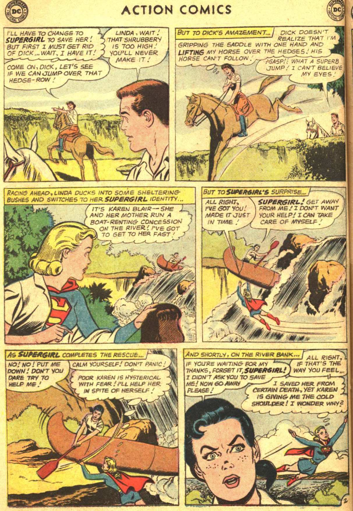 Read online Action Comics (1938) comic -  Issue #305 - 22