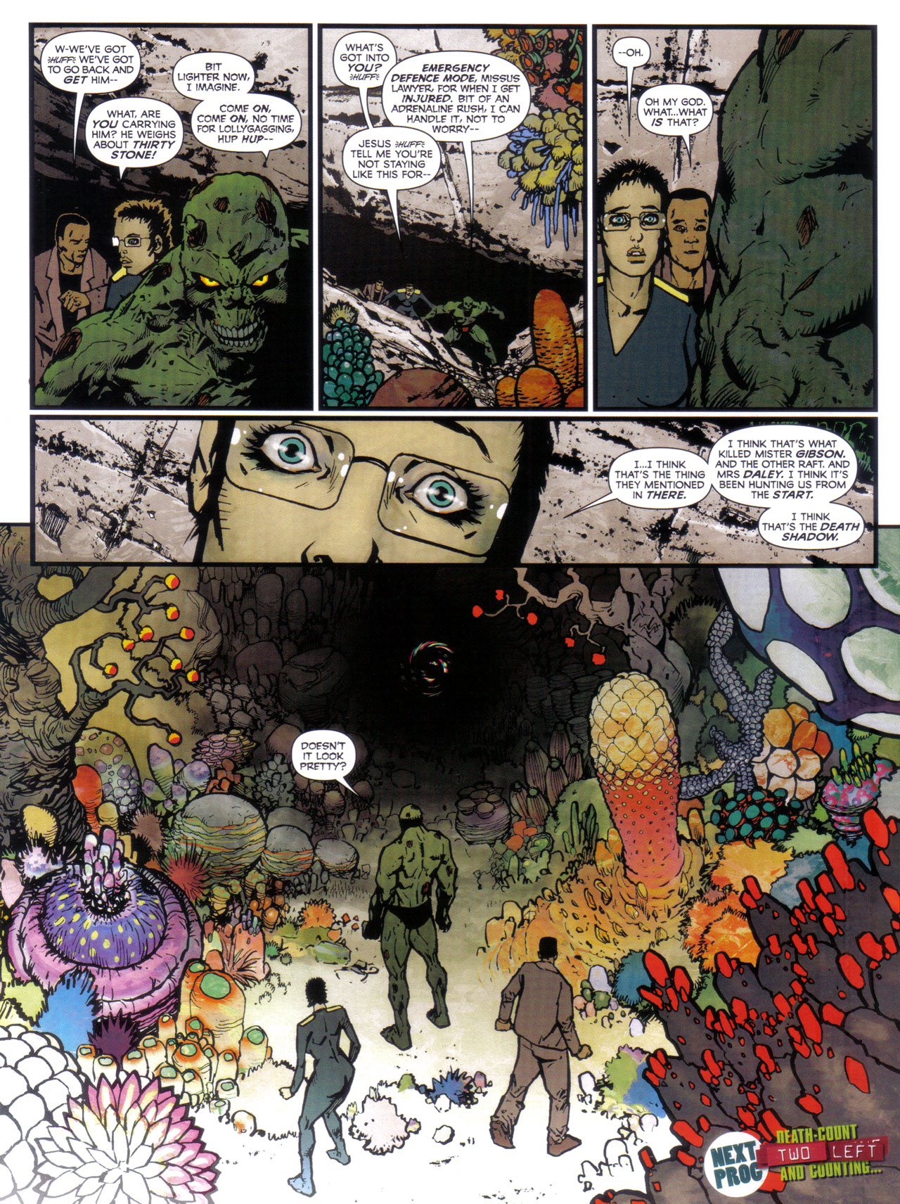 Read online 2000 AD comic -  Issue #1746 - 30