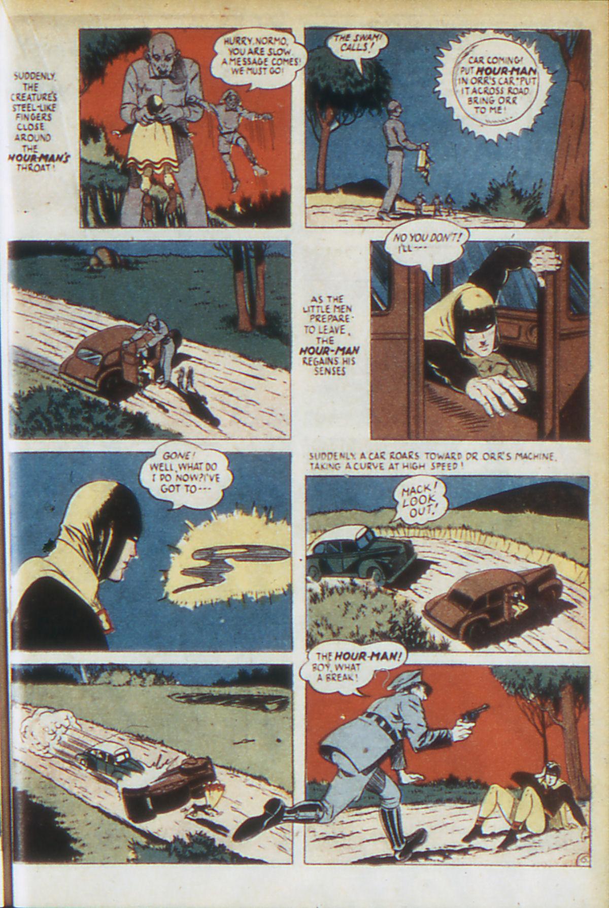 Read online Adventure Comics (1938) comic -  Issue #64 - 38