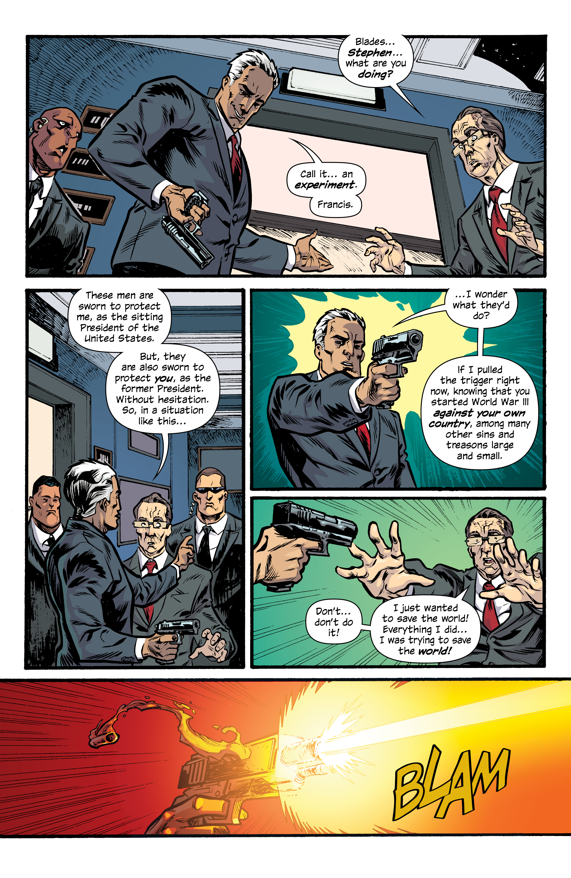 Read online Letter 44 comic -  Issue #33 - 6