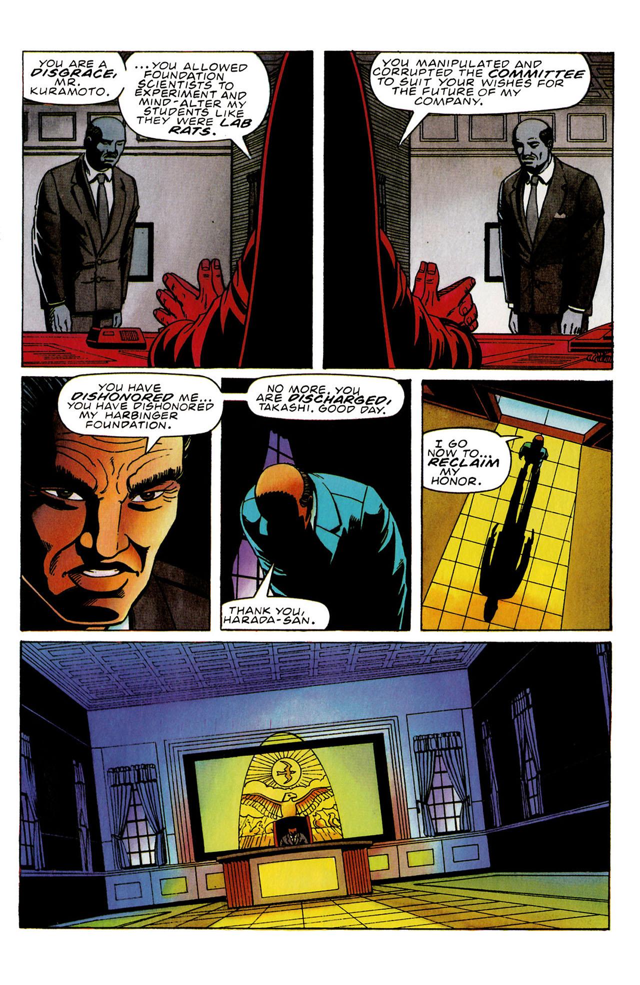 Read online Harbinger (1992) comic -  Issue #31 - 18