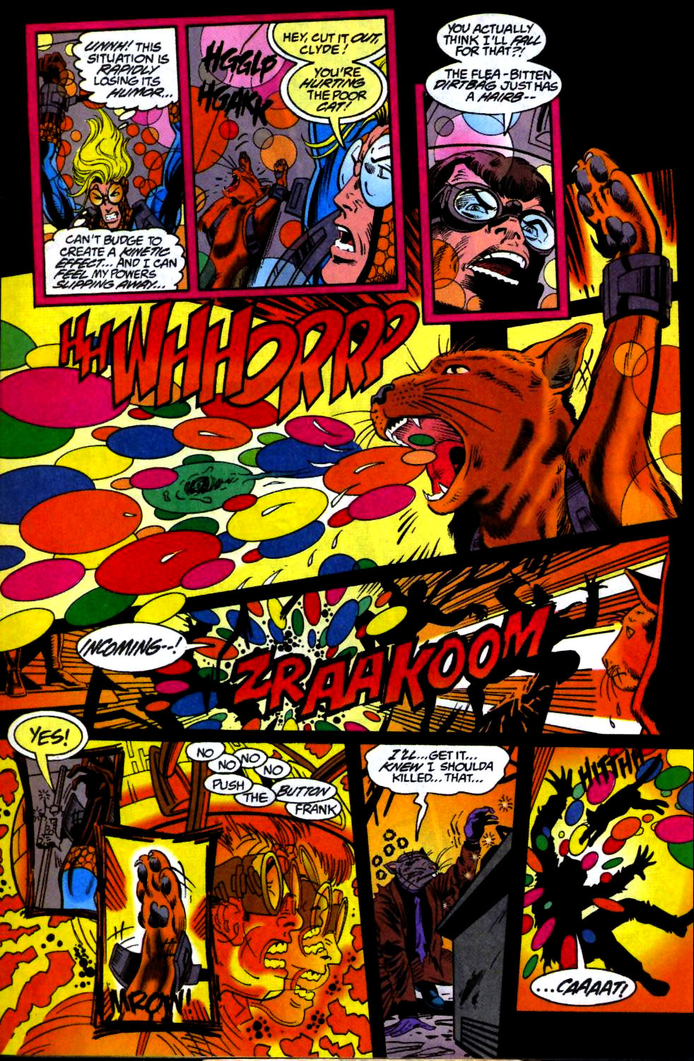 The New Warriors Issue #66 #70 - English 21