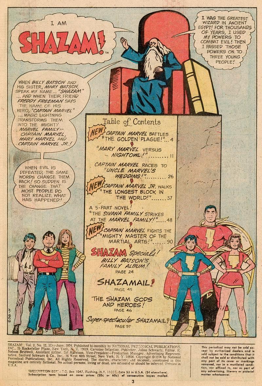 Read online Shazam! (1973) comic -  Issue #12 - 3