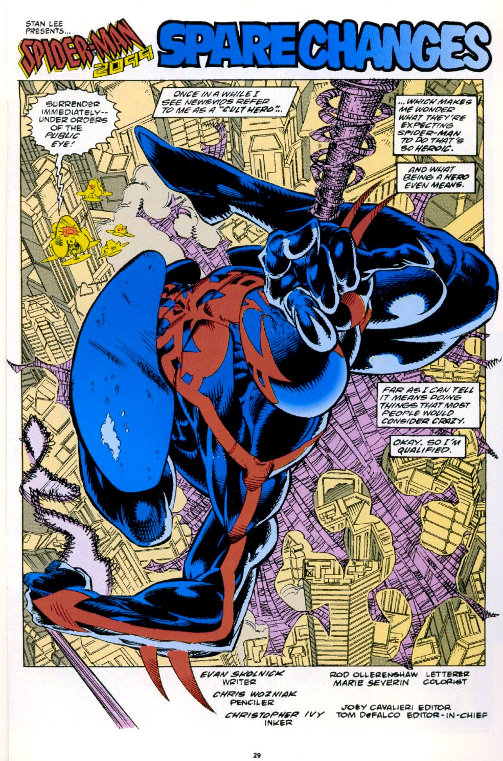 Read online 2099 Unlimited comic -  Issue #3 - 22