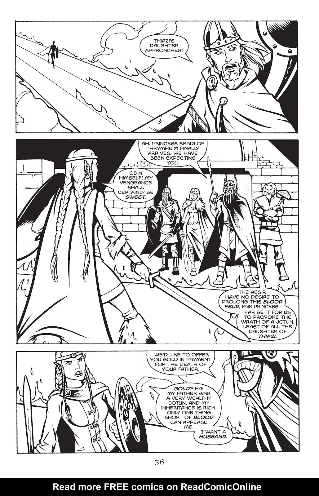 Read online Gods of Asgard comic -  Issue # TPB (Part 1) - 57