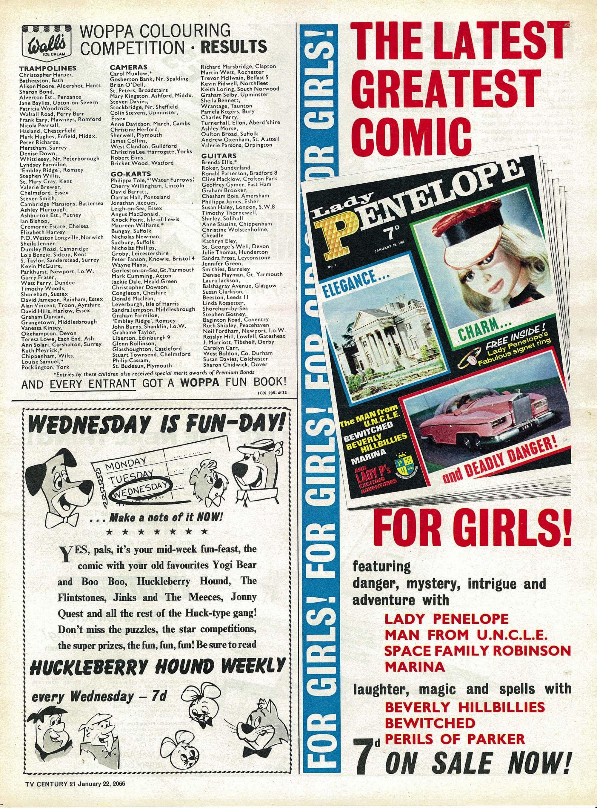Read online TV Century 21 (TV 21) comic -  Issue #53 - 12