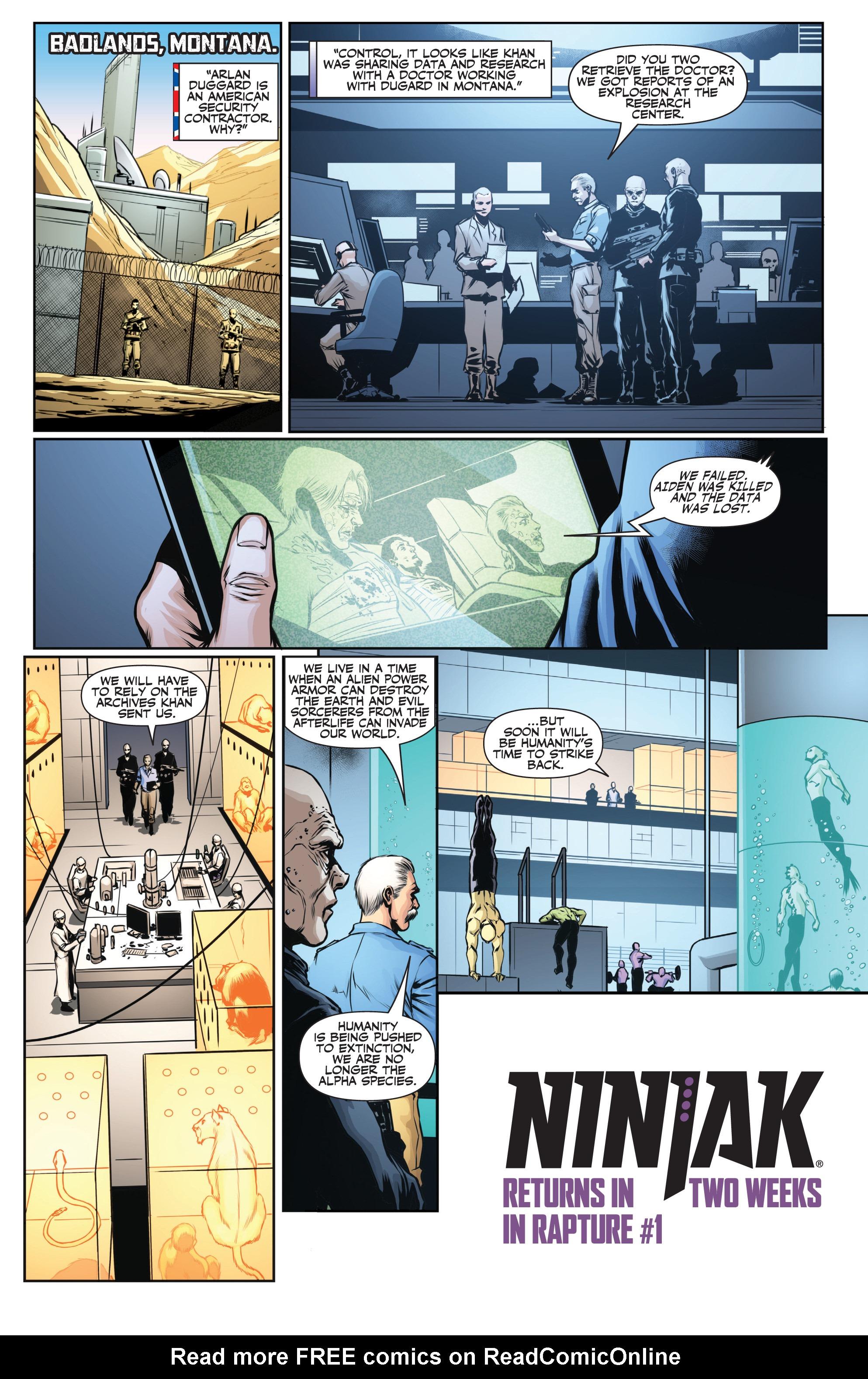 Read online Ninjak (2015) comic -  Issue #27 - 24