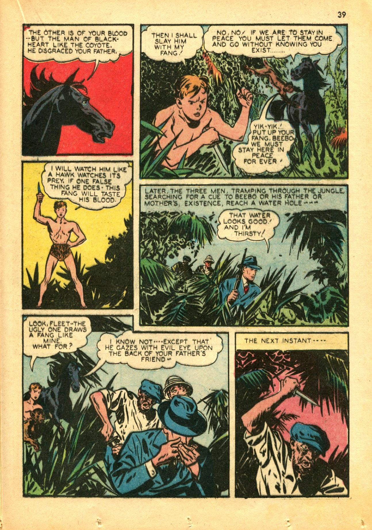 Read online Shadow Comics comic -  Issue #30 - 39