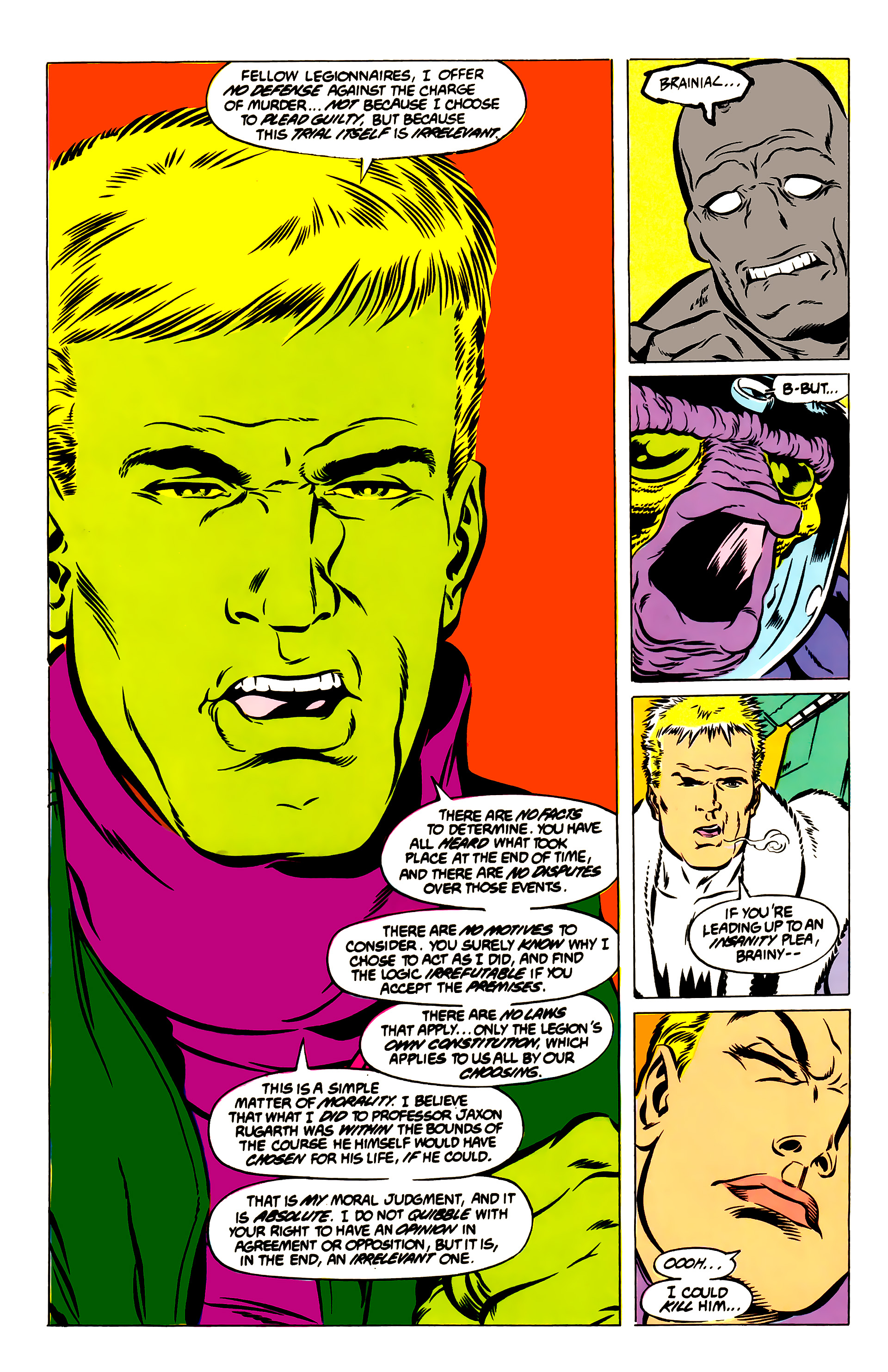 Legion of Super-Heroes (1984) 51 Page 16