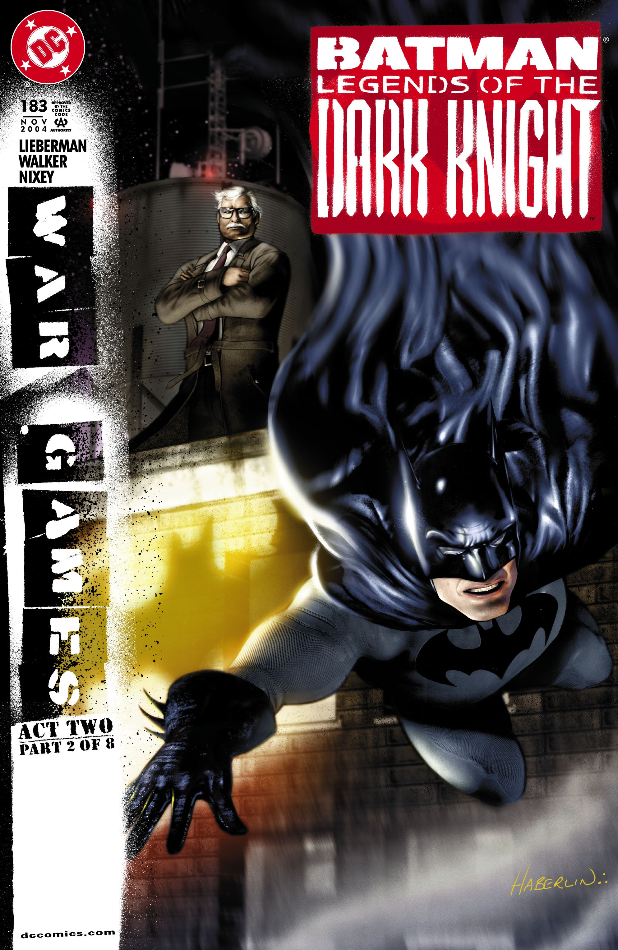 Batman: Legends of the Dark Knight 183 Page 1