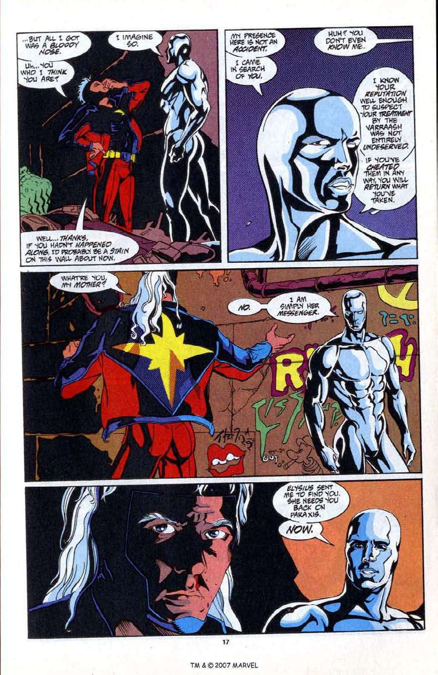 Read online Silver Surfer (1987) comic -  Issue # _Annual 6 - 19