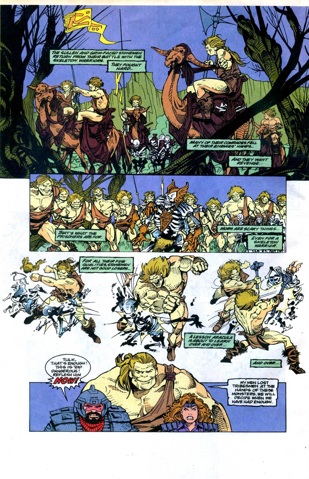 Skeleton Warriors Issue #4 #4 - English 7