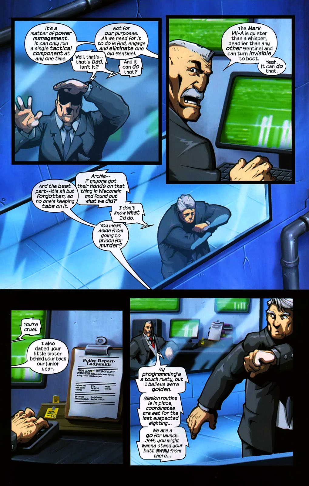 Read online Sentinel (2006) comic -  Issue #2 - 9