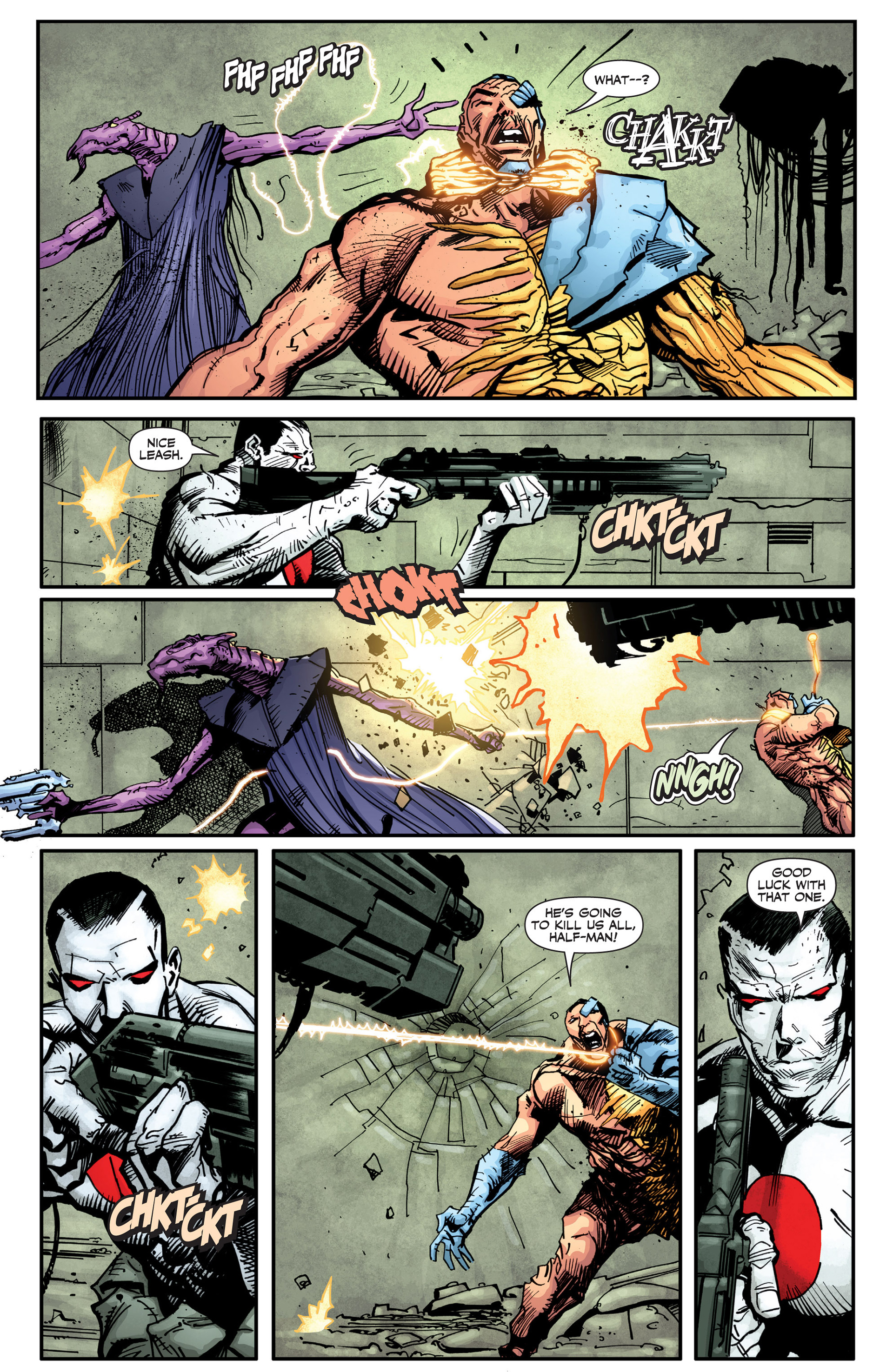 Read online Armor Hunters: Bloodshot comic -  Issue #2 - 6