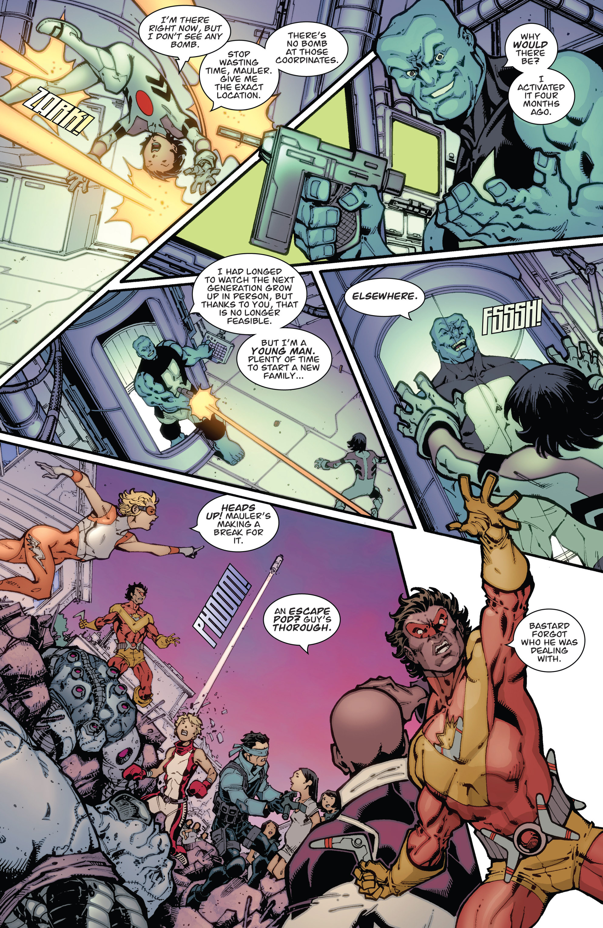 Read online Guarding the Globe (2012) comic -  Issue #2 - 19