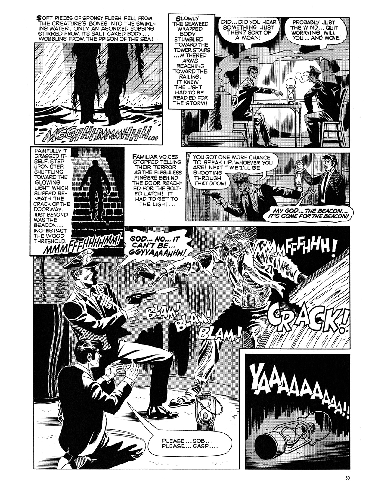 Read online Eerie Archives comic -  Issue # TPB 5 - 60