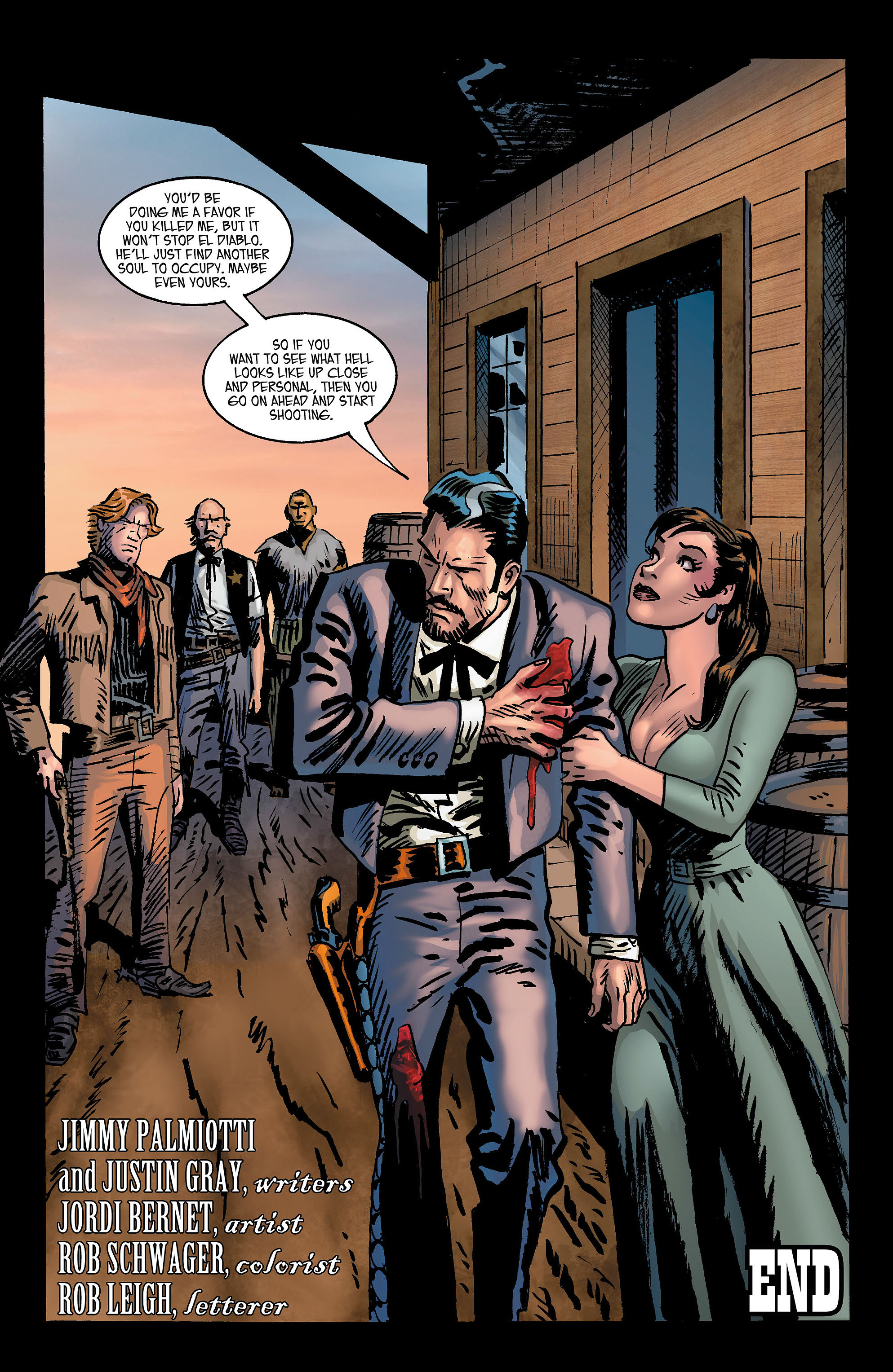 Read online All-Star Western (2011) comic -  Issue #3 - 27