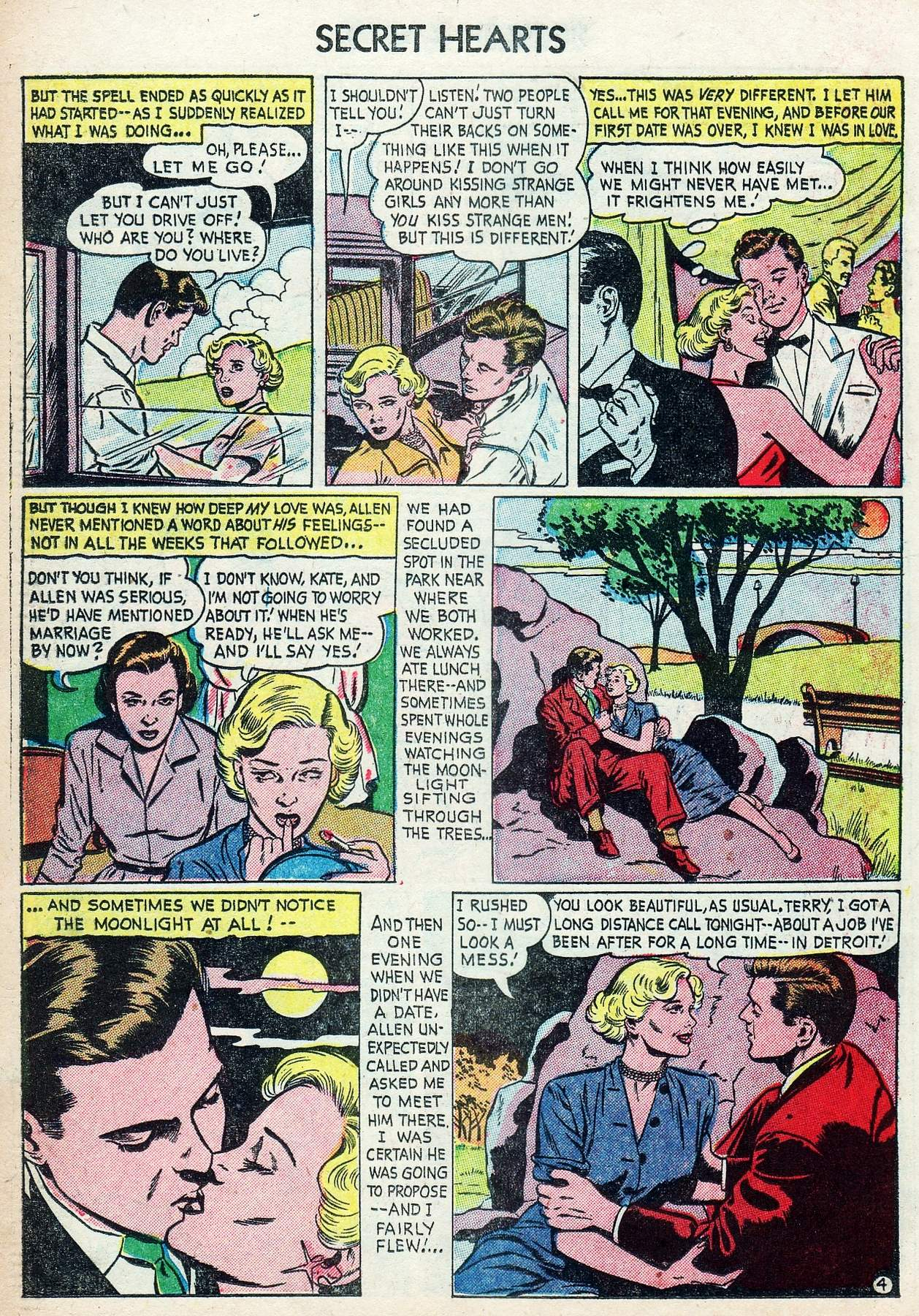 Read online Secret Hearts comic -  Issue #25 - 22