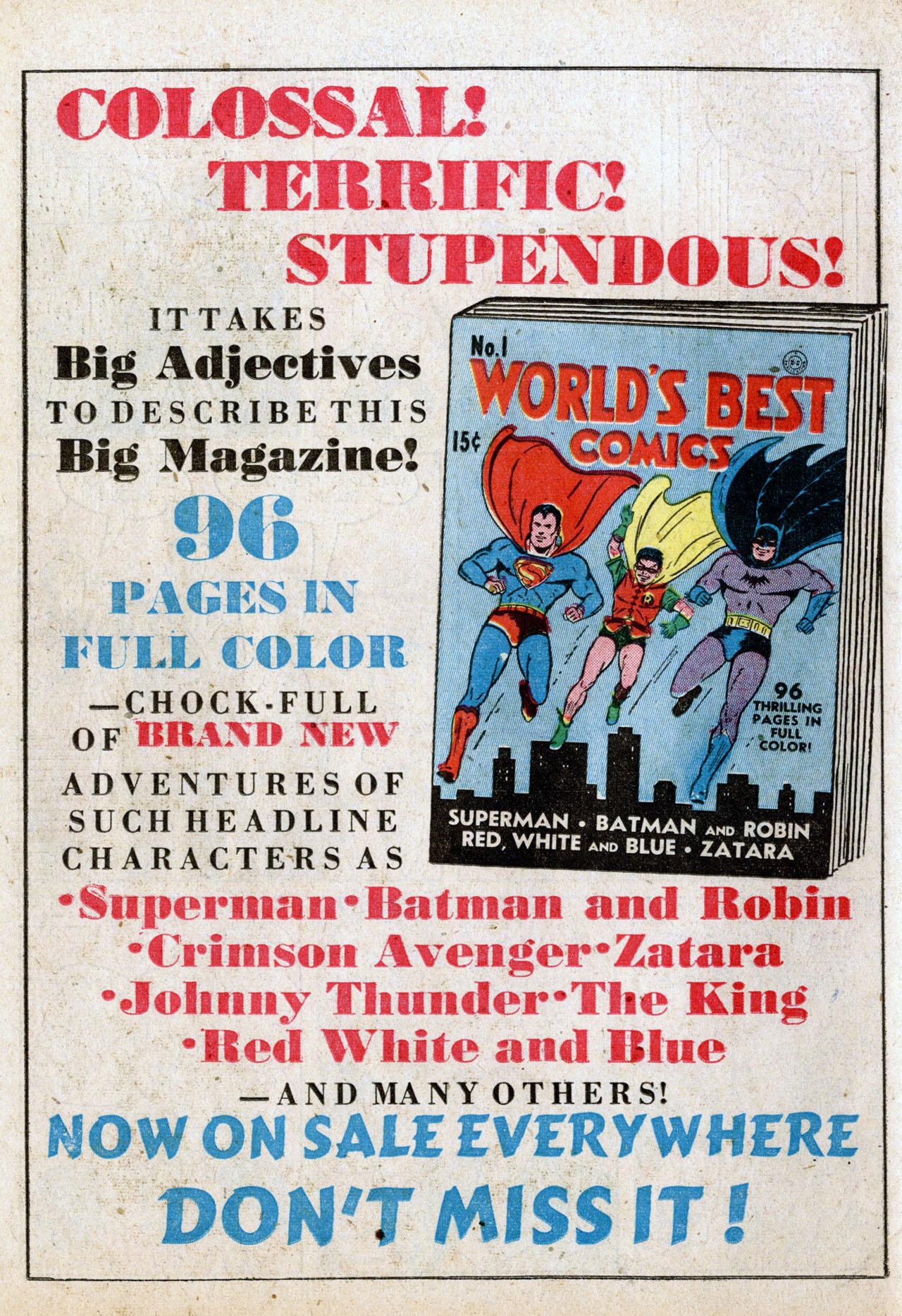 Read online Detective Comics (1937) comic -  Issue #50 - 66