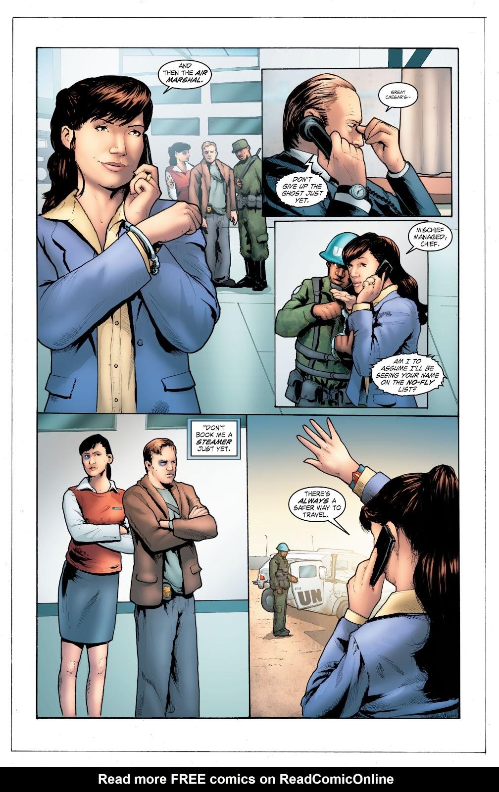 Read online Smallville Season 11 [II] comic -  Issue # TPB 4 - 107