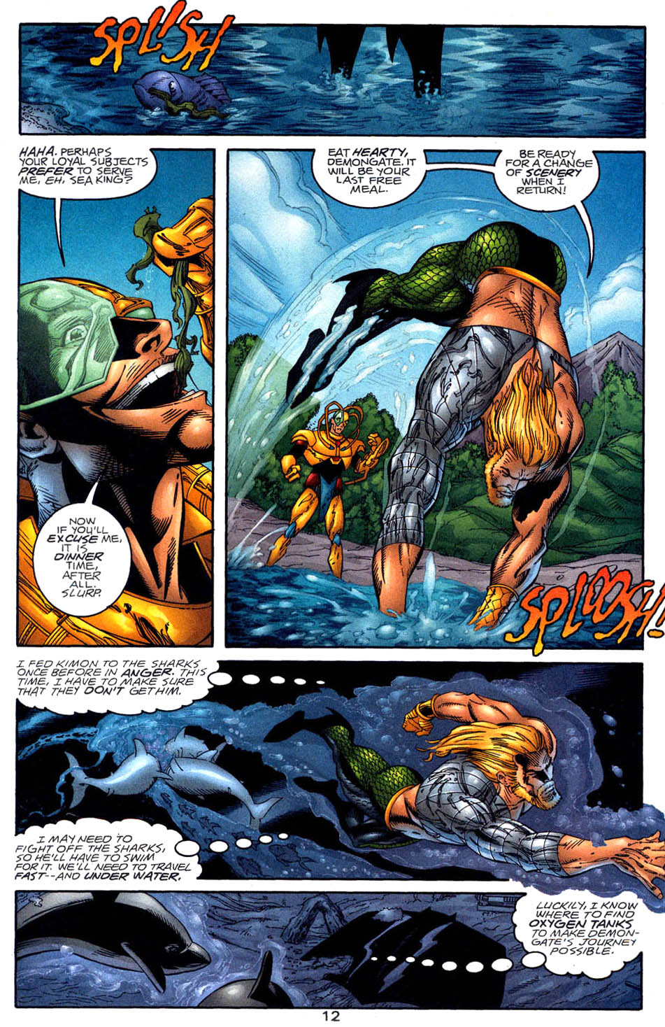 Read online Aquaman (1994) comic -  Issue #58 - 12
