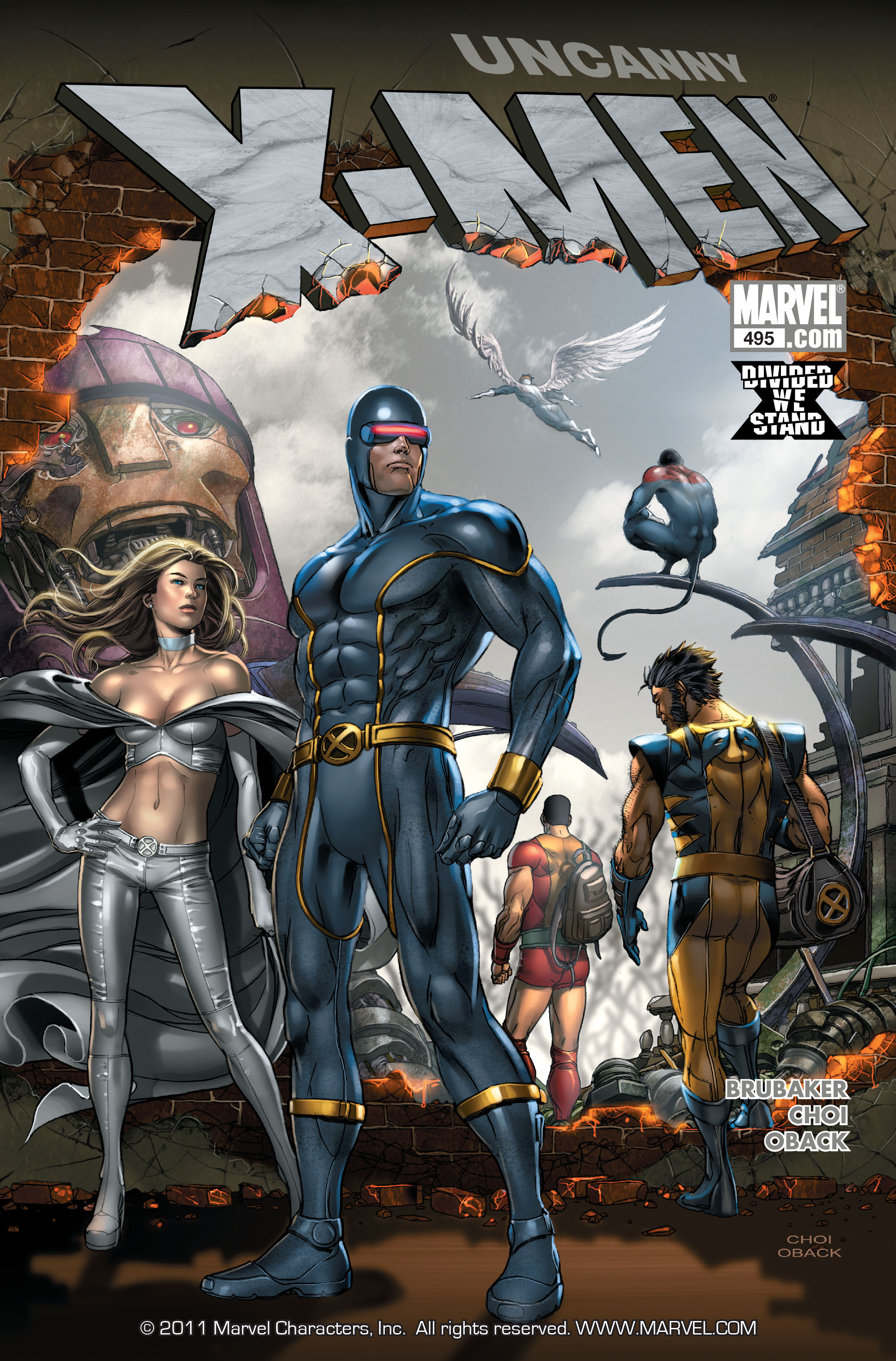 Read online Uncanny X-Men (1963) comic -  Issue #495 - 1