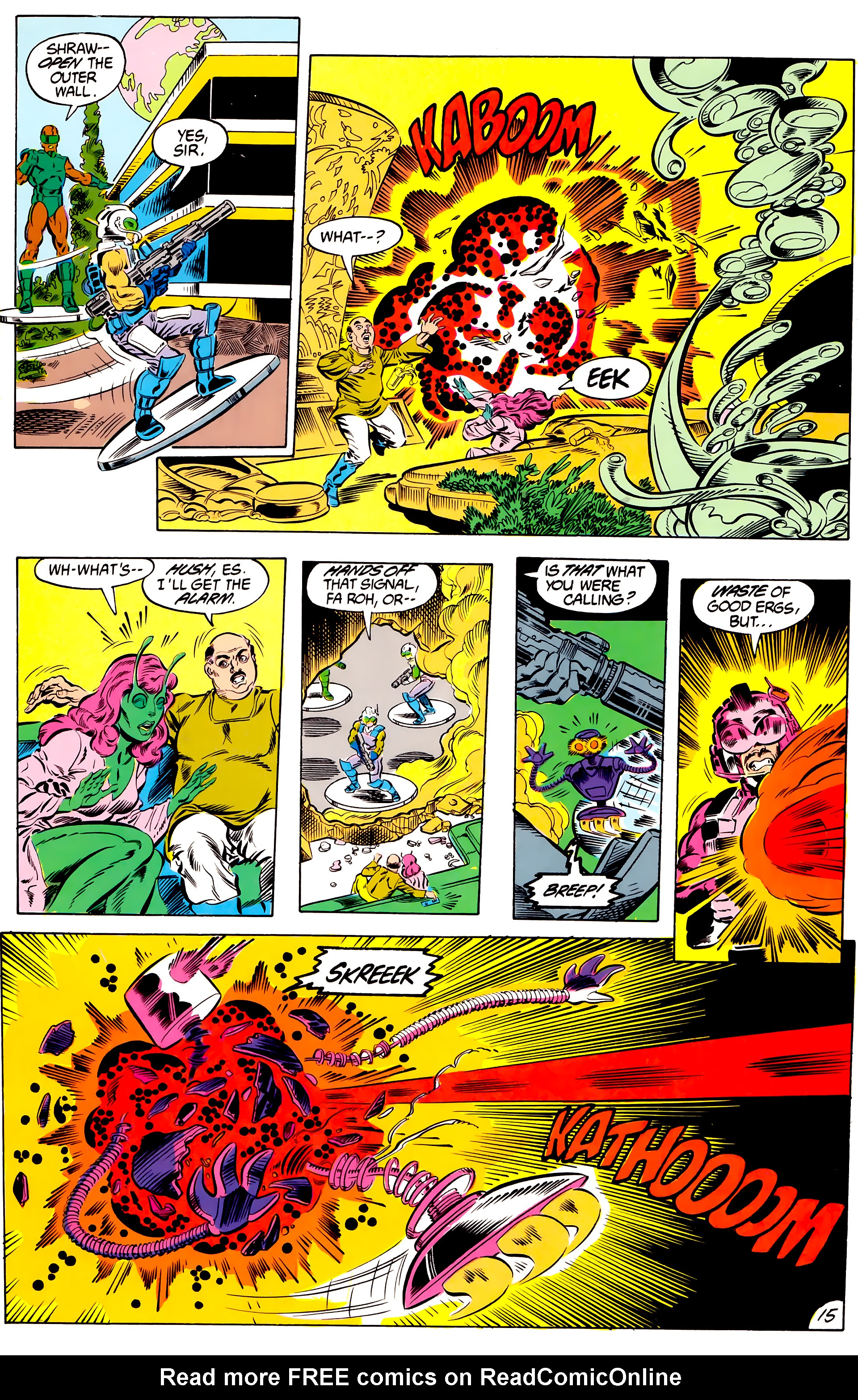 Legion of Super-Heroes (1984) 46 Page 15