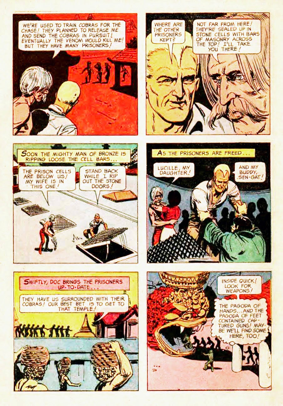 Read online Doc Savage (1966) comic -  Issue # Full - 32