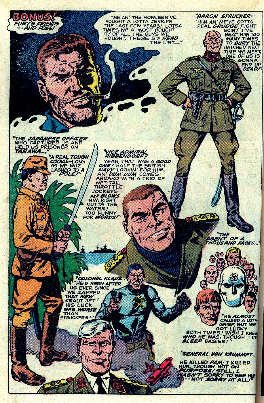 Read online Sgt. Fury comic -  Issue # _Special 5 - 30