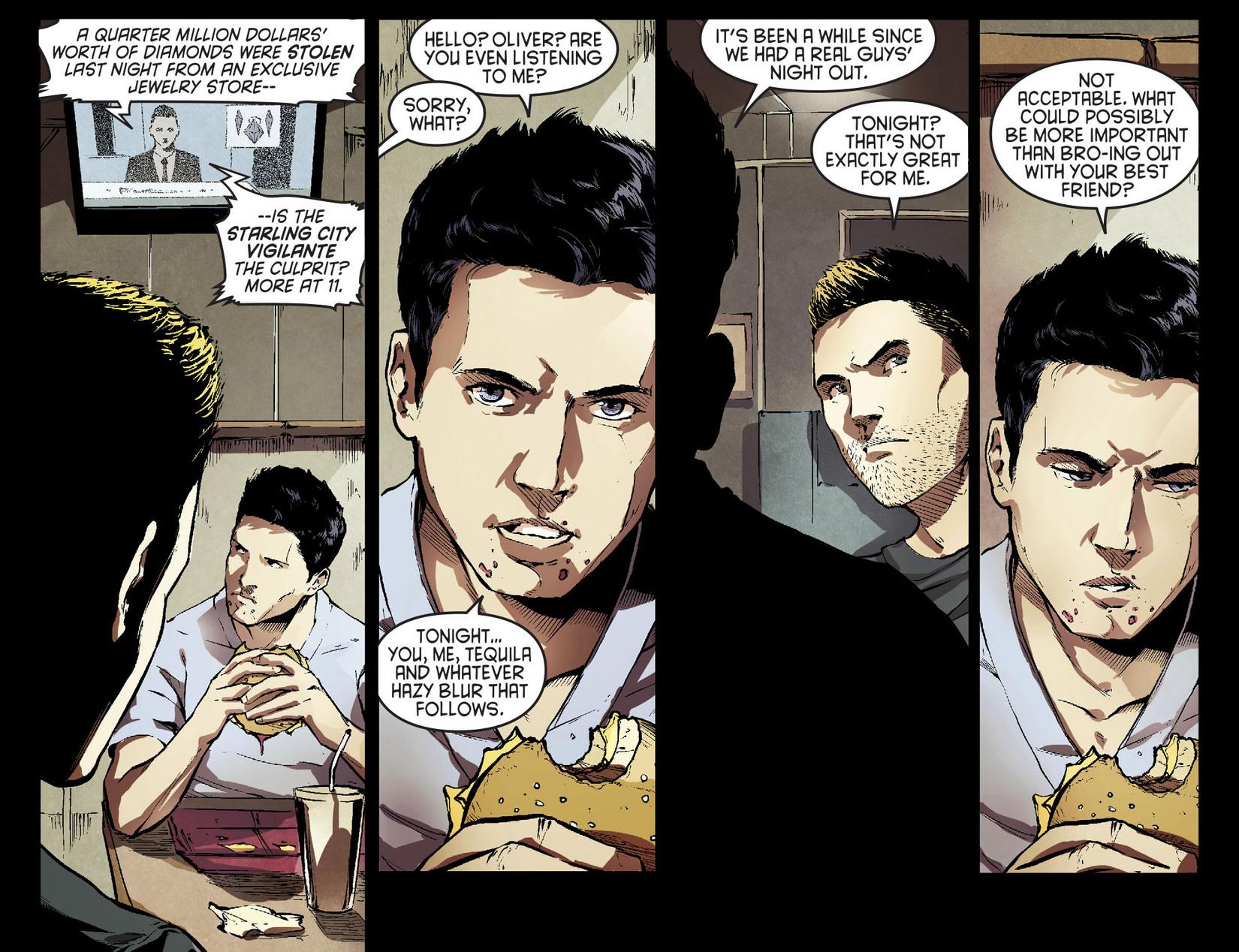 Read online Arrow [II] comic -  Issue #7 - 8