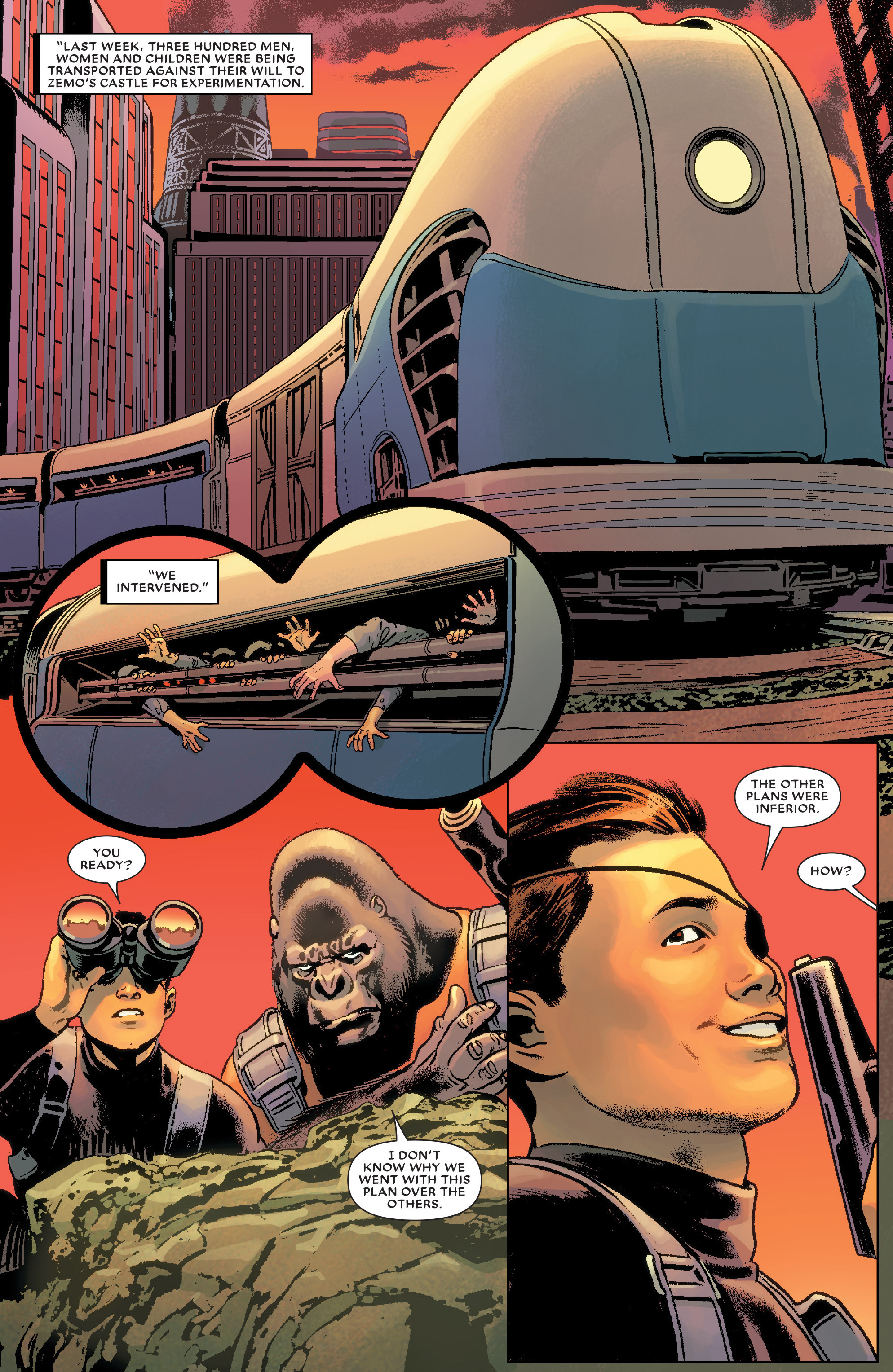 Read online Secret Wars Journal/Battleworld comic -  Issue # TPB - 95