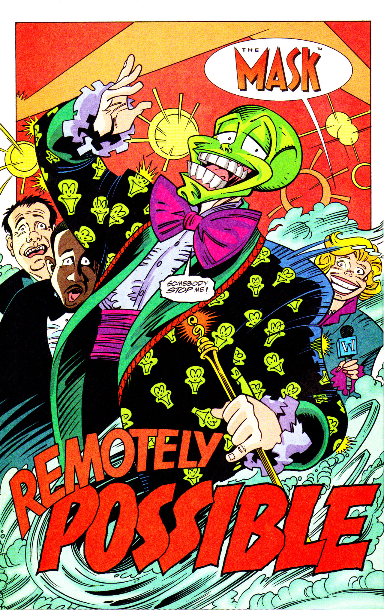 Read online Adventures Of The Mask comic -  Issue #7 - 4
