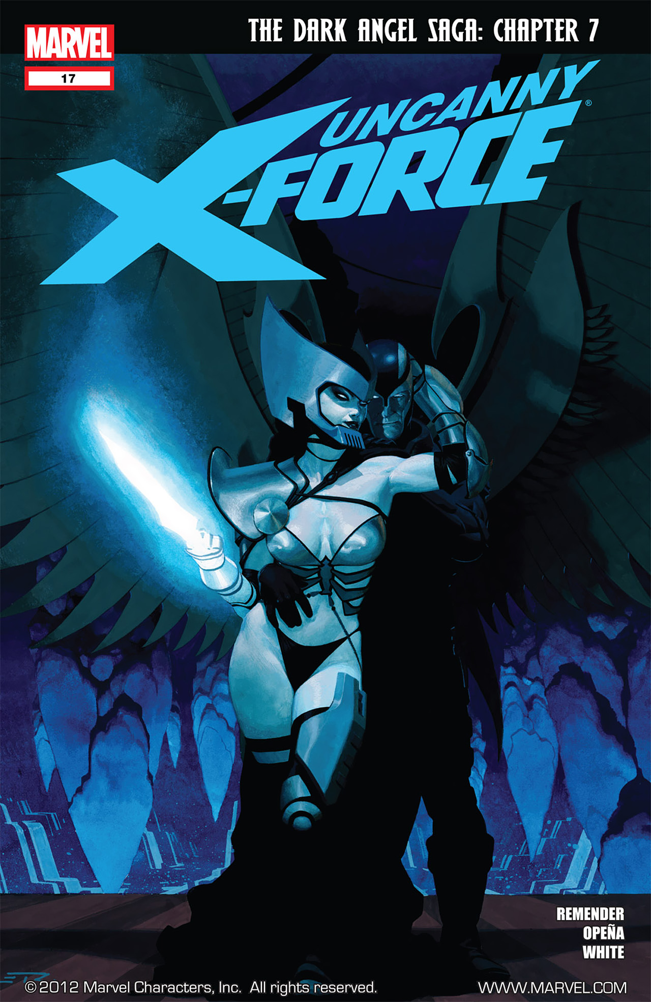 Read online Uncanny X-Force (2010) comic -  Issue #17 - 1