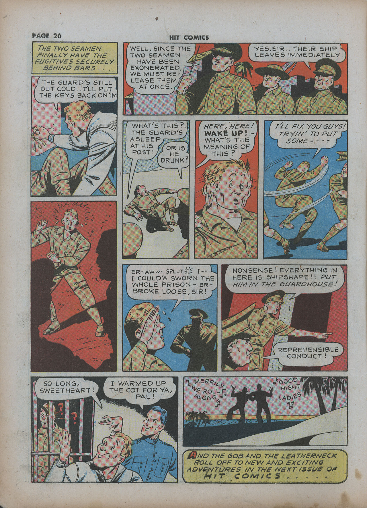 Read online Hit Comics comic -  Issue #22 - 22