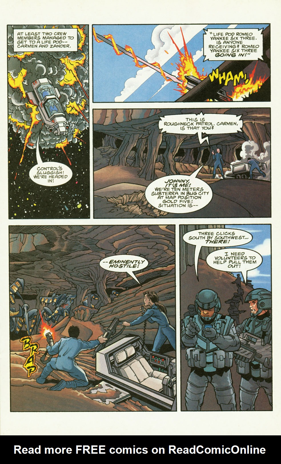 Read online Starship Troopers comic -  Issue #2 - 19