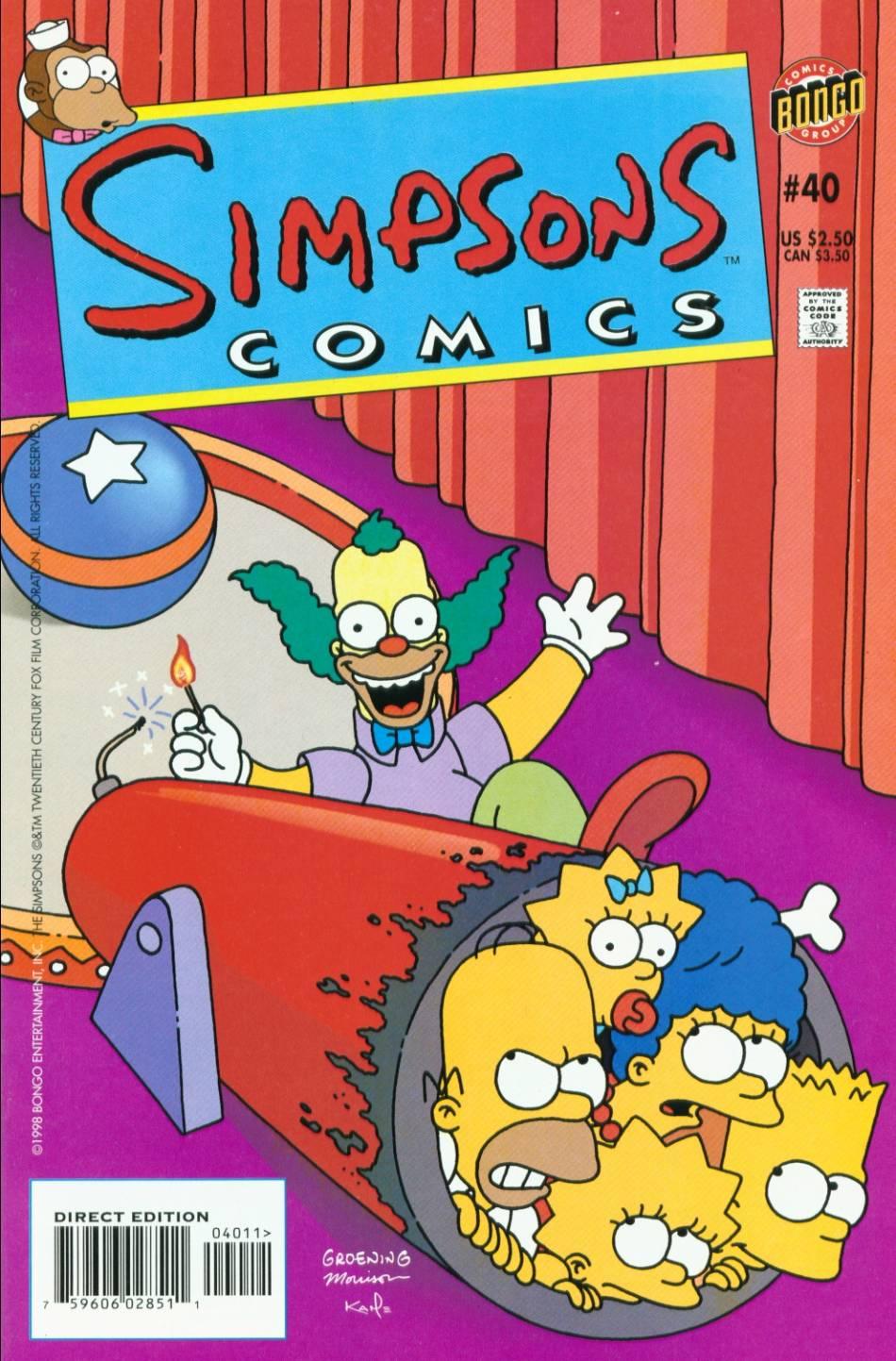 Read online Simpsons Comics comic -  Issue #40 - 1