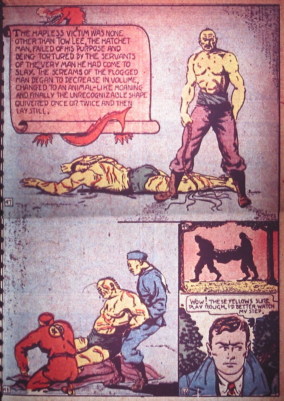 Read online Detective Comics (1937) comic -  Issue #3 - 31
