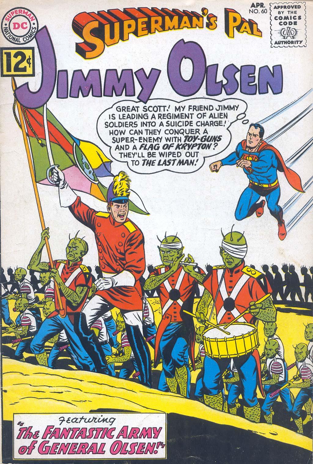 Supermans Pal Jimmy Olsen (1954) 60 Page 1